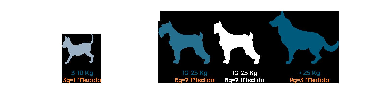Ración para perros y gatos