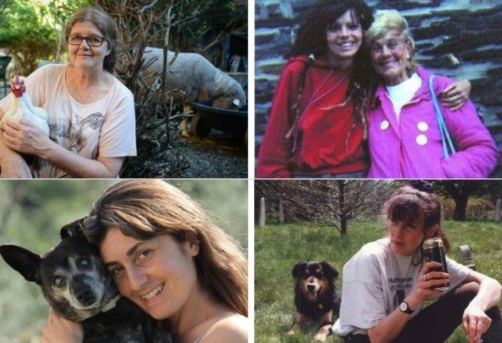 Mujeres activistas por los derechos de los animales